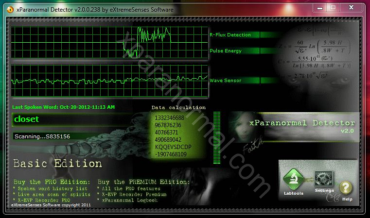 Ghost detector for Windows PC
